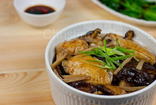 冬菇蒸雞飯 Steamed Chicken & Shiitake Mushroom Rice02