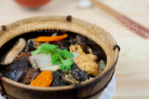 南乳炆粗齋 Braised Vegetables with Red Fermented Beancurd02
