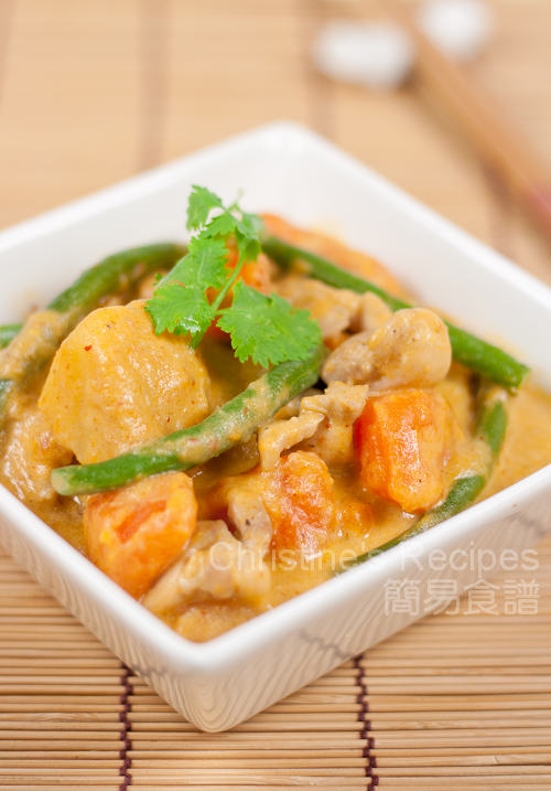 紅咖喱番薯雞 Chicken and Sweet Potato Curry01