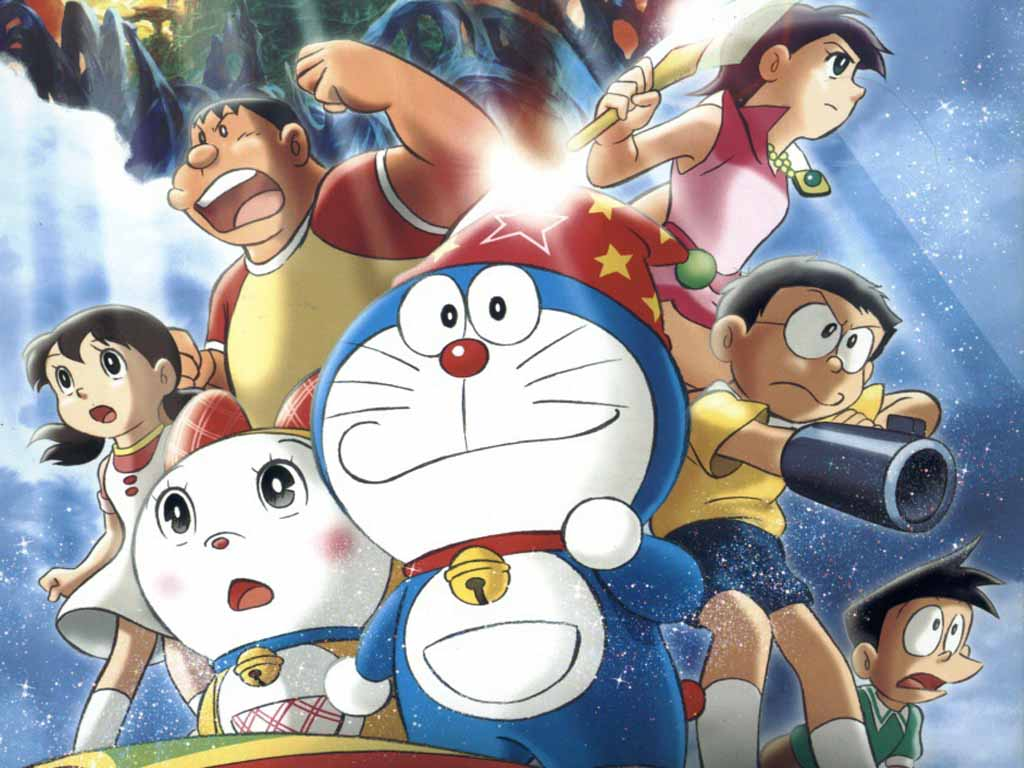 Top Cartoon Wallpapers: Free Doraemon Wallpapers