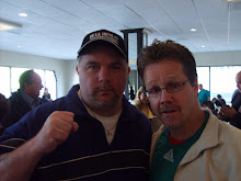 Cooney and friend Freddie Roach