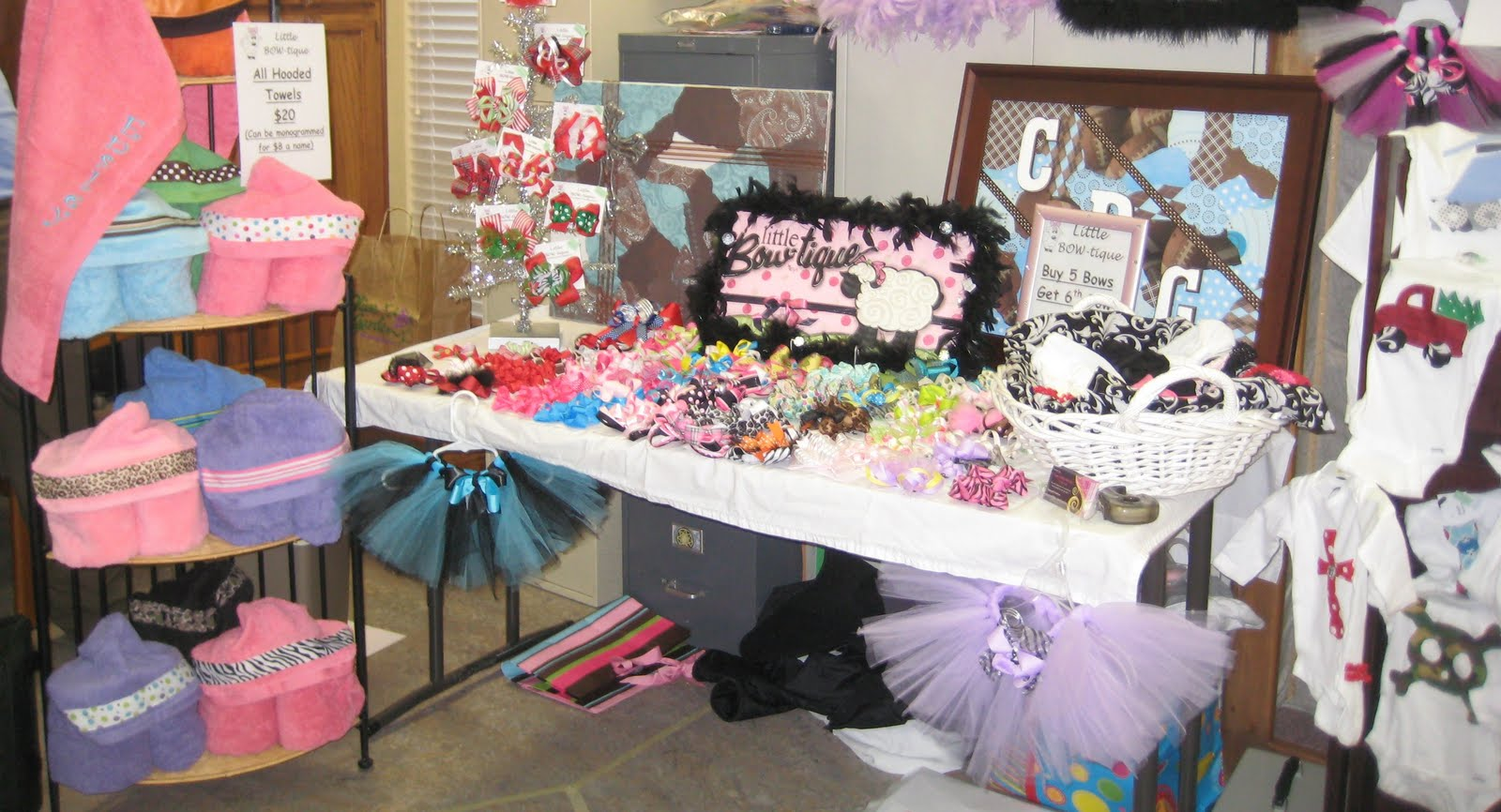 Erryn S Little Bow Tique Christmas Craft Show And Items