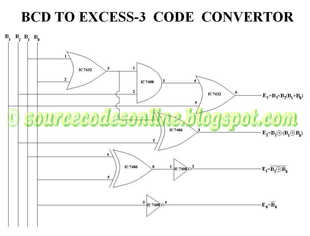 logic diagram for bcd to 7 segment decoder bcd to excess 3 logic diagram | wiring library #11