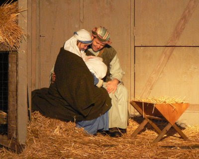 did mary and joseph stay in a stable relationship