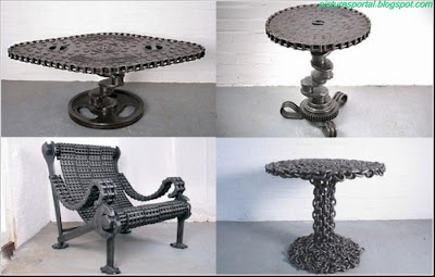 Events And Gossips Art Furniture Made Of Metal