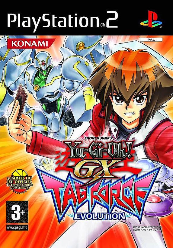 PS2 - Yu-Gi-Oh! - GX Tag Force Evolution « Visitem www