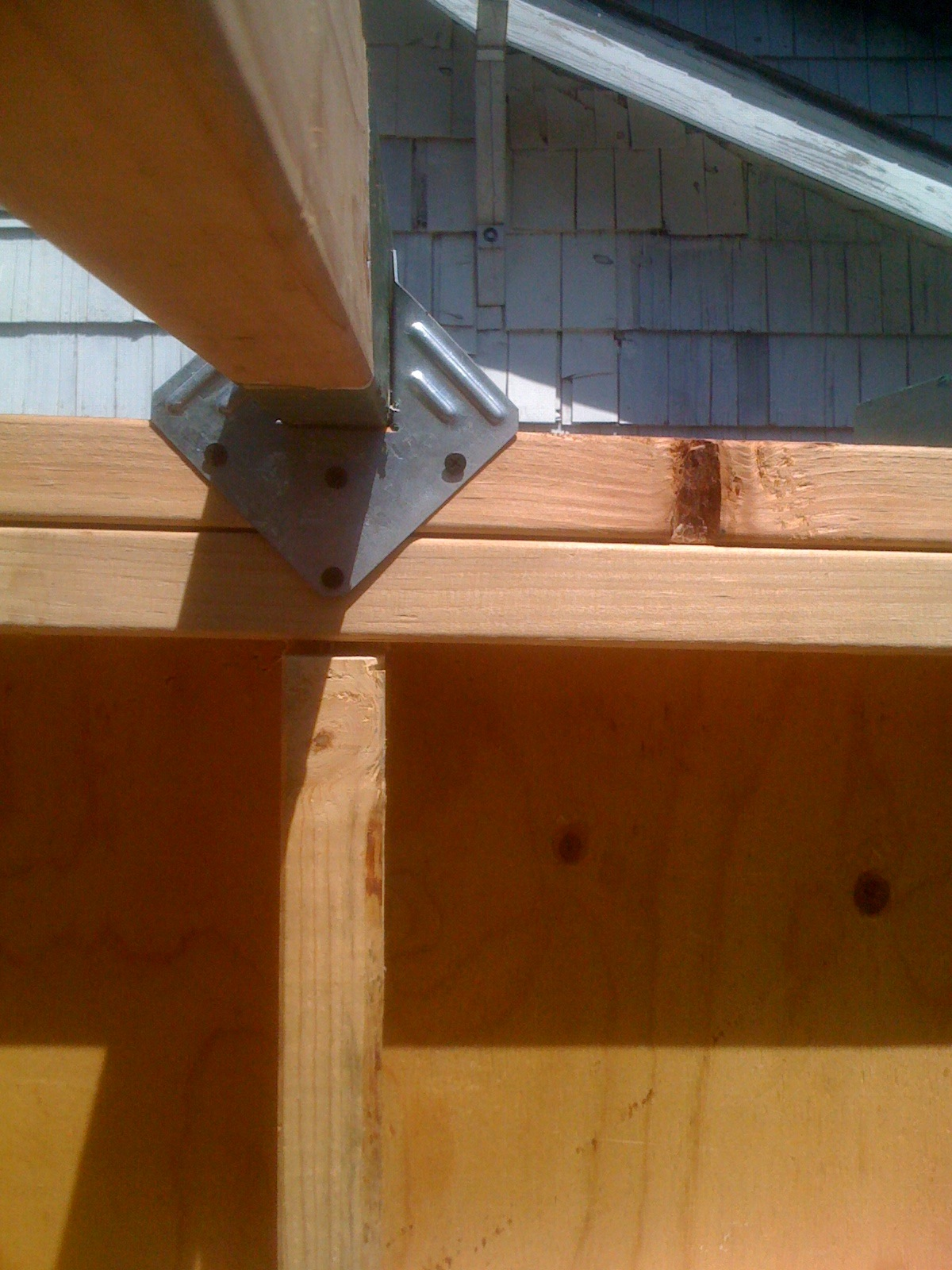 Coagula Et Solve Attaching The Rafters