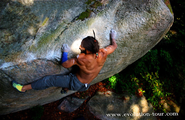 Philippe Ribiere -rock Climber Evolution Tour Official Teaser 2010