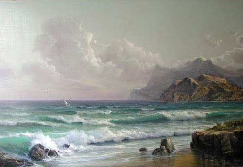 Marine Oil Paintings Sergey Koval