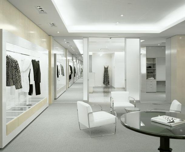 fashion showroom interior design. Black Bedroom Furniture Sets. Home Design Ideas