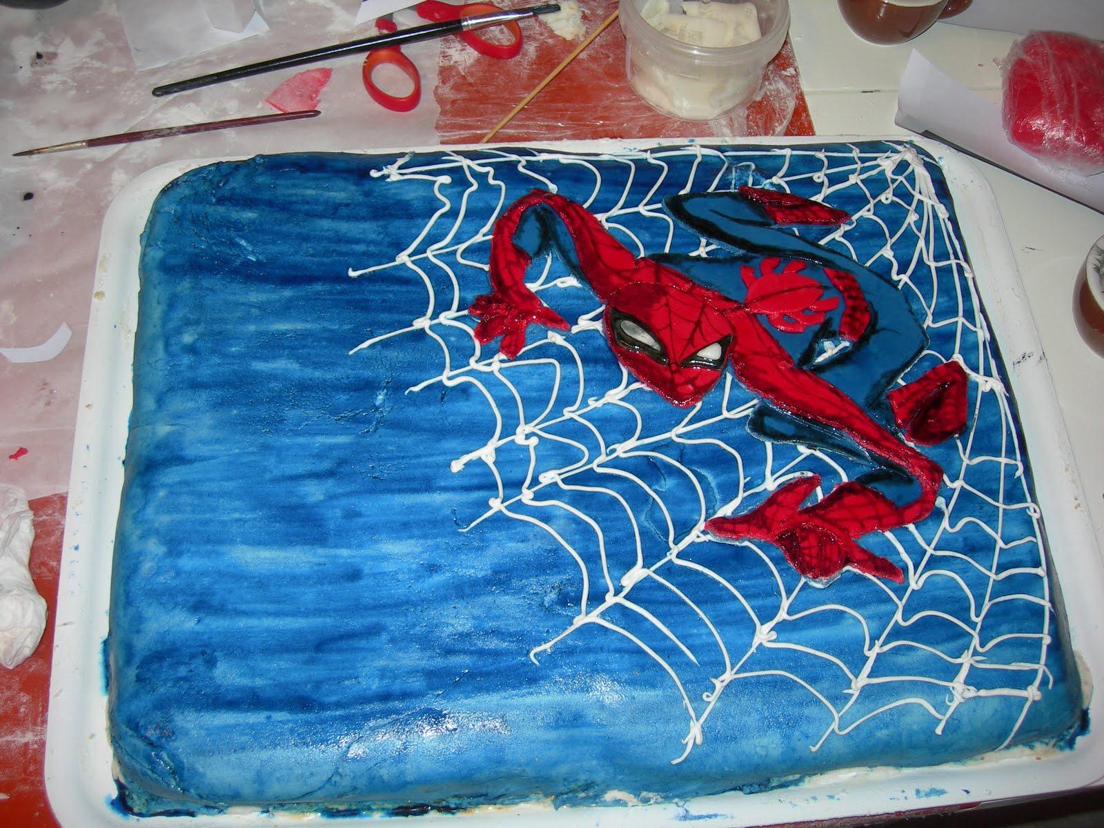Conosciuto Le creazioni di mamma Roby: Torta di Spiderman dei 5 anni di  VQ62