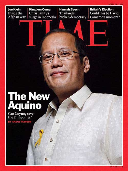 How to deal with US vassal states and US military bases overseas? Noynoy+aquino+time+magazine+cover