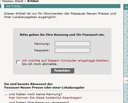 Wahlinfo Passau Letzte Mahnung
