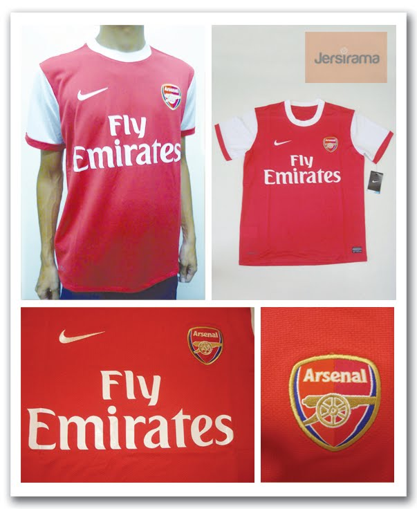ba21ed1b3 Arsenal Home   Away Jersey (EPL Season 2010 2011)