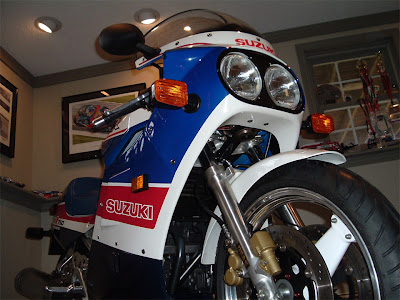 Motorcycle Superstore: 1986 GSXR 750 Limited Edition with a