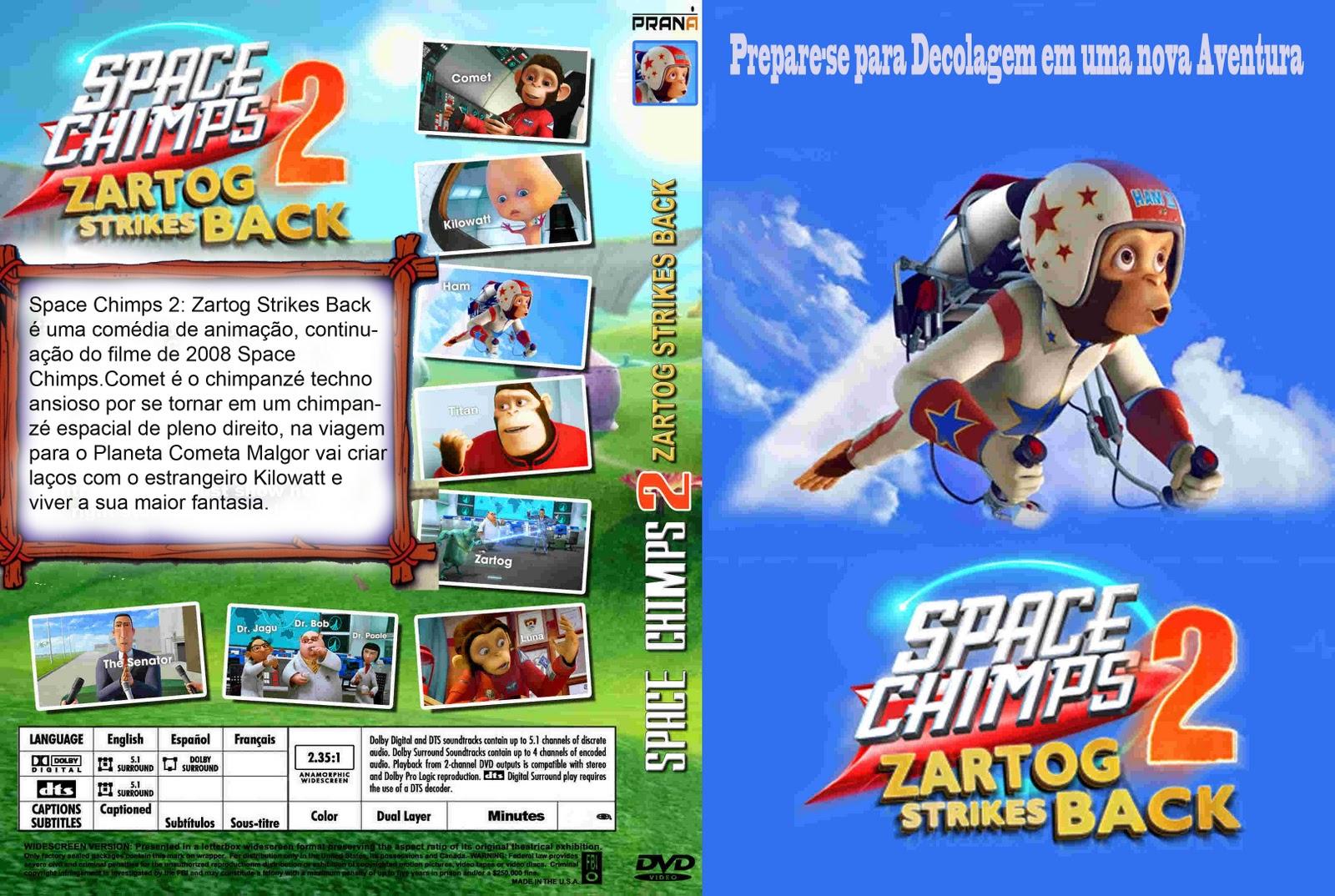 1080p] [hd 1080p] space chimps 2: zartog strikes back (2010) best.