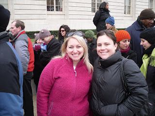 waiting in line inauguration tickets