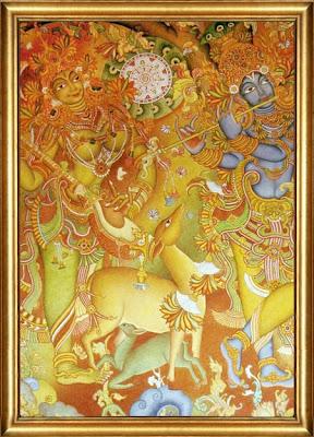 Celebrations Decor - An Indian Decor blog: Kerala Murals  Celebrations De...