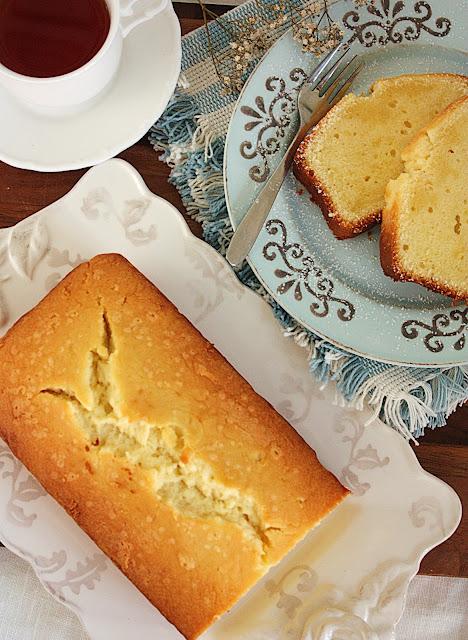 Martha Stewart Baked Cream Cheese Pound Cake