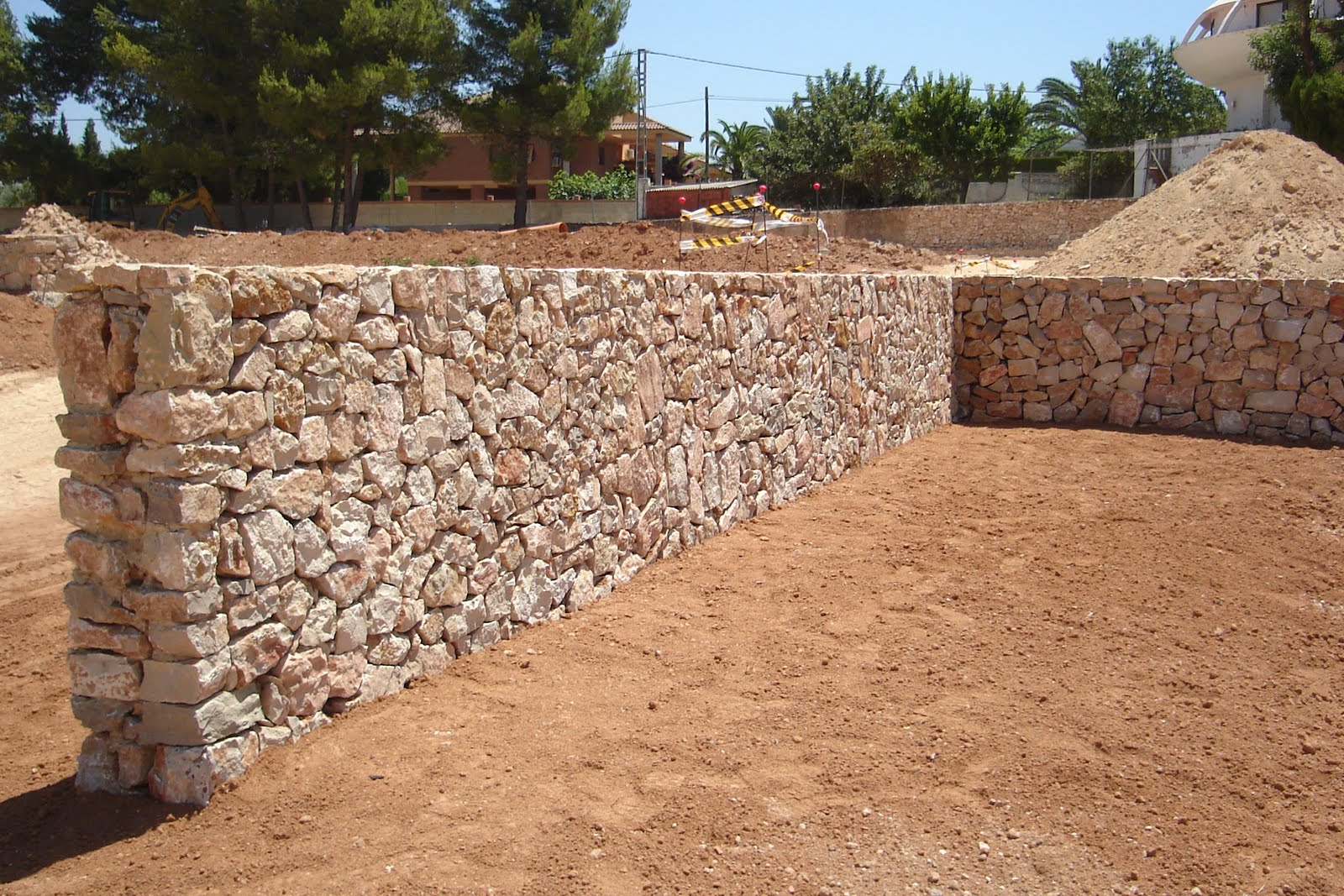 Piedramaestrazgo piedra de escollera 100 600mm - Muro de piedra natural ...