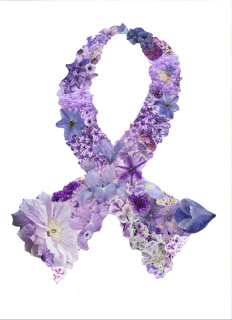 I Care Cards I CARE CARDS LIGHT PURPLE RIBBONSLavender Cancer Ribbon Meaning