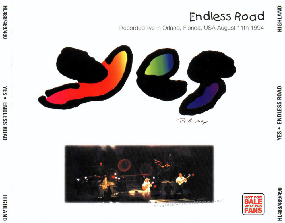 Yes: Endless Road  Orlando, Florida, USA - August 11, 1994
