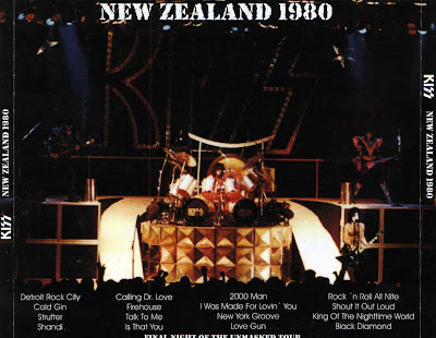 Kiss: Final Night of the Unmasked Tour  Auckland, New