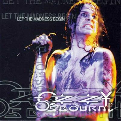 ozzy osbourne let the madness begin monsters of rock santiago chile 1995 double cd ex. Black Bedroom Furniture Sets. Home Design Ideas