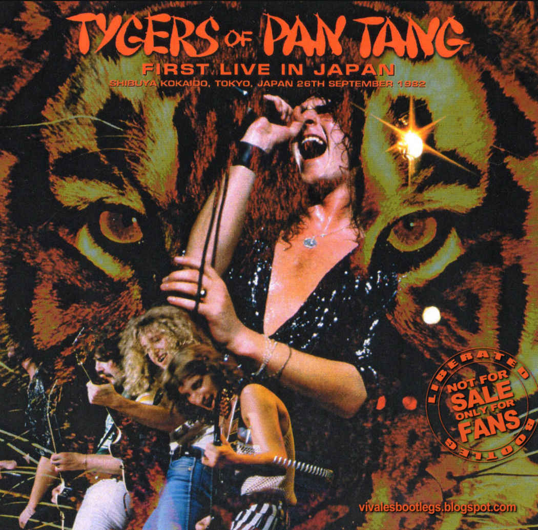 Viva Les Bootlegs: Tygers Of Pan Tang: First Live In Japan  Shibuya