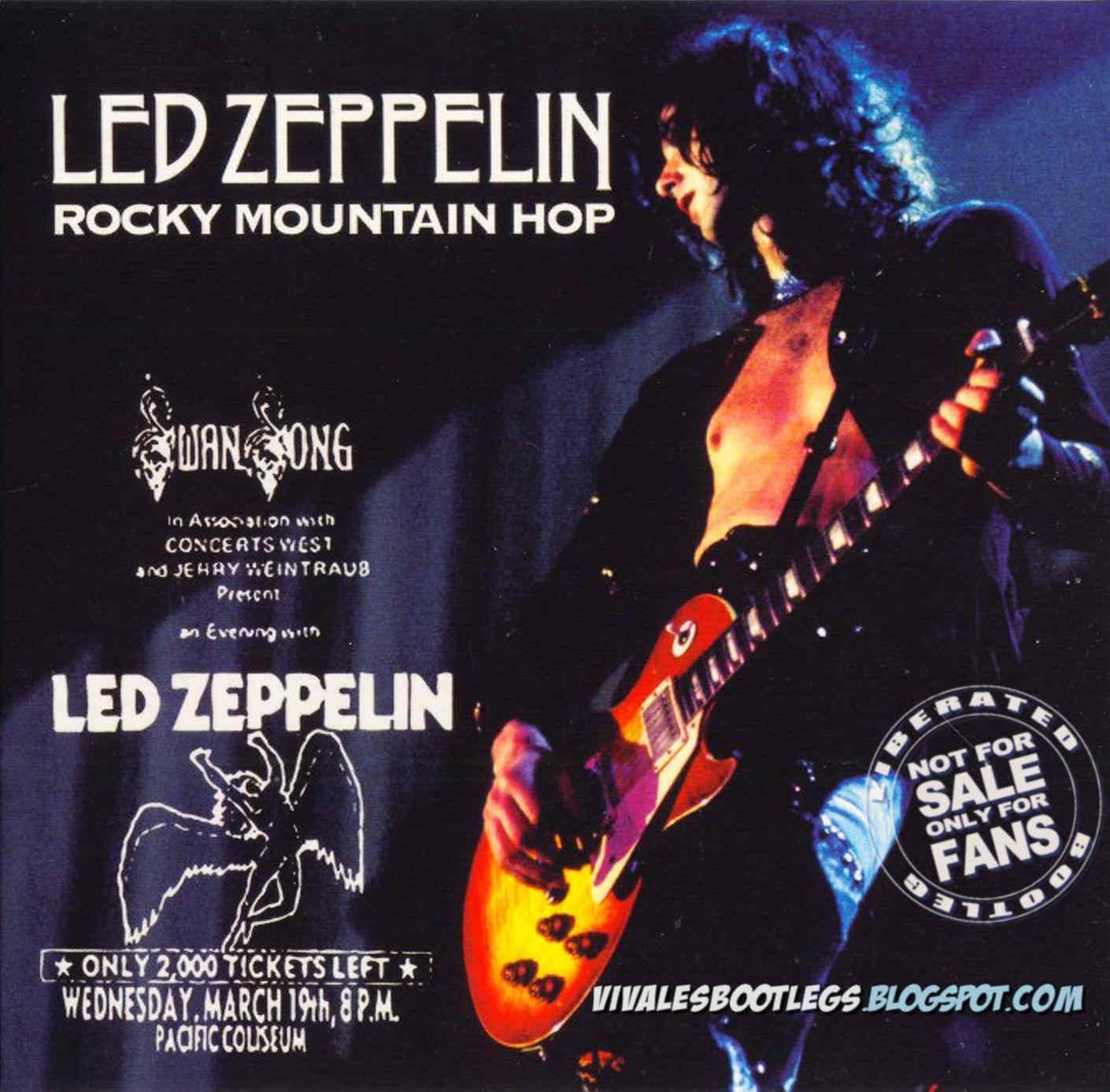 Led Zeppelin: Rocky Mountain Hop  Pacific Coliseum