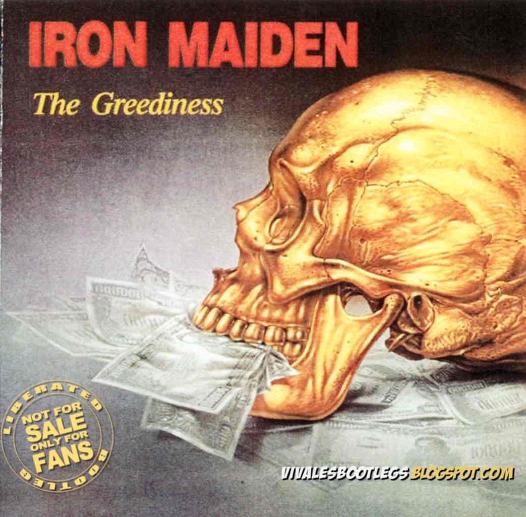 Iron Maiden: The Greediness  Colston Hall, Bristol, England