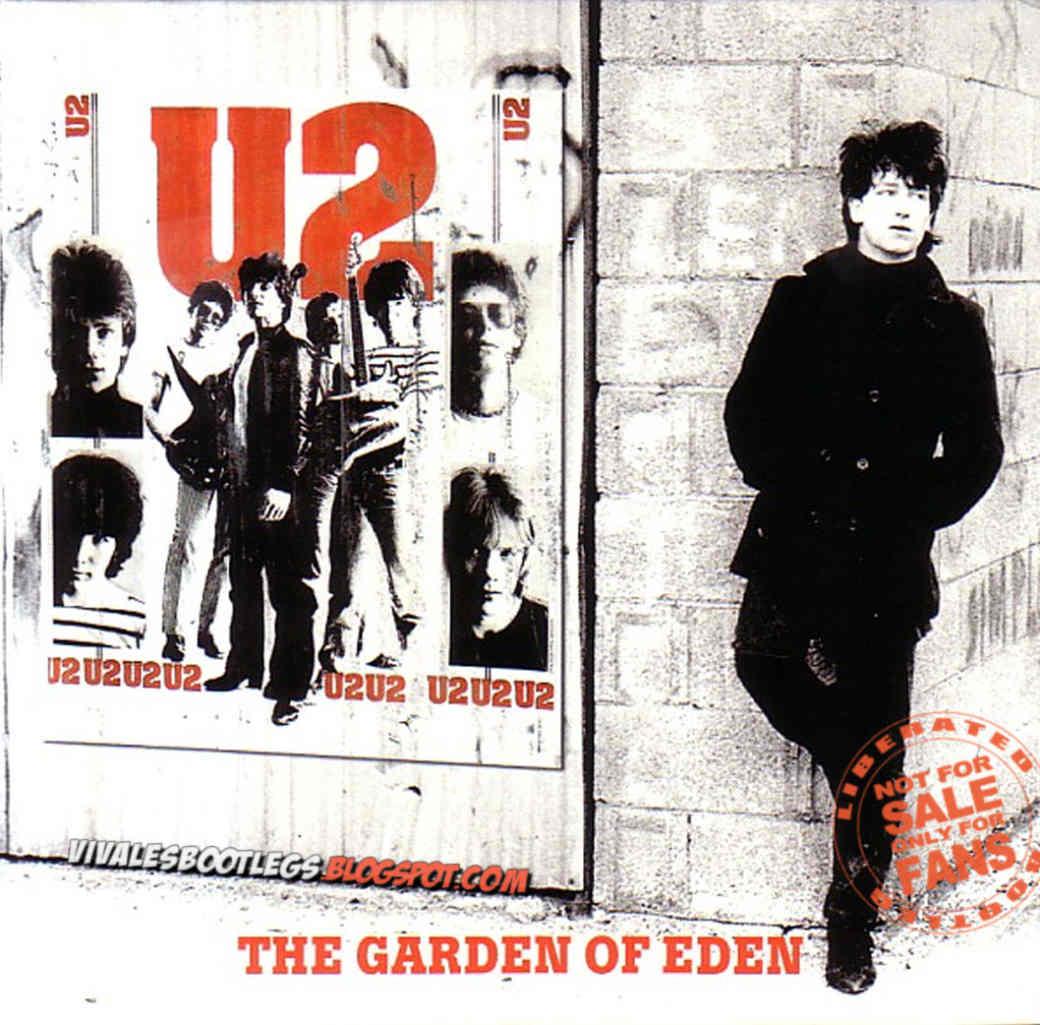 U2: The Garden of Eden  Tullamore, Ireland 1980  (Double CD