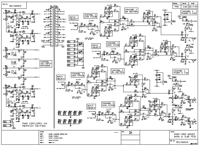 SCHEMATIC: Dmix 300 schema mixer