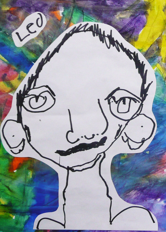 Art By Erin Leigh Kindergarten Self Portraits