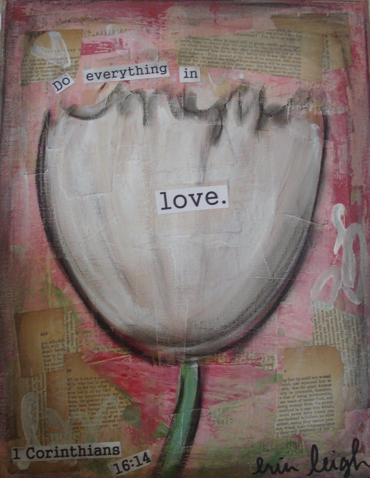 Art By Erin Leigh Learning To Love