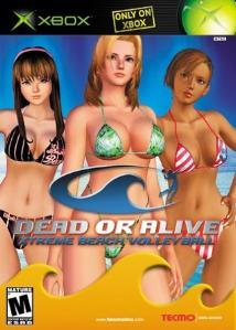 Woman big boobs bikini video game