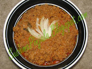 Keema Curry(mutton)