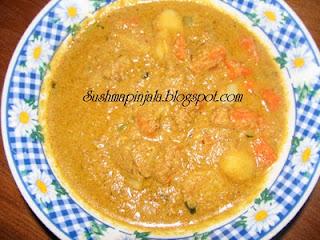 Aloo Carrot Kurma