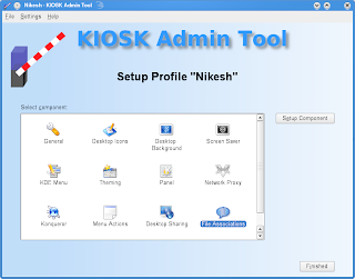 How to restrict features of the KDE desktop for users on