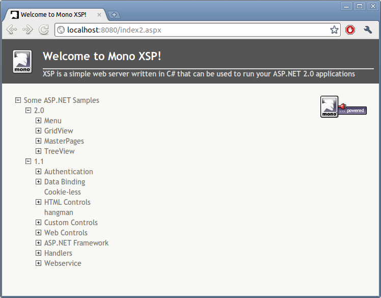 How To Run ASP NET applications (mono) on Ubuntu Linux