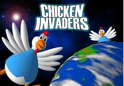 لعبة الدجاج المشهورة Chicken Invaders