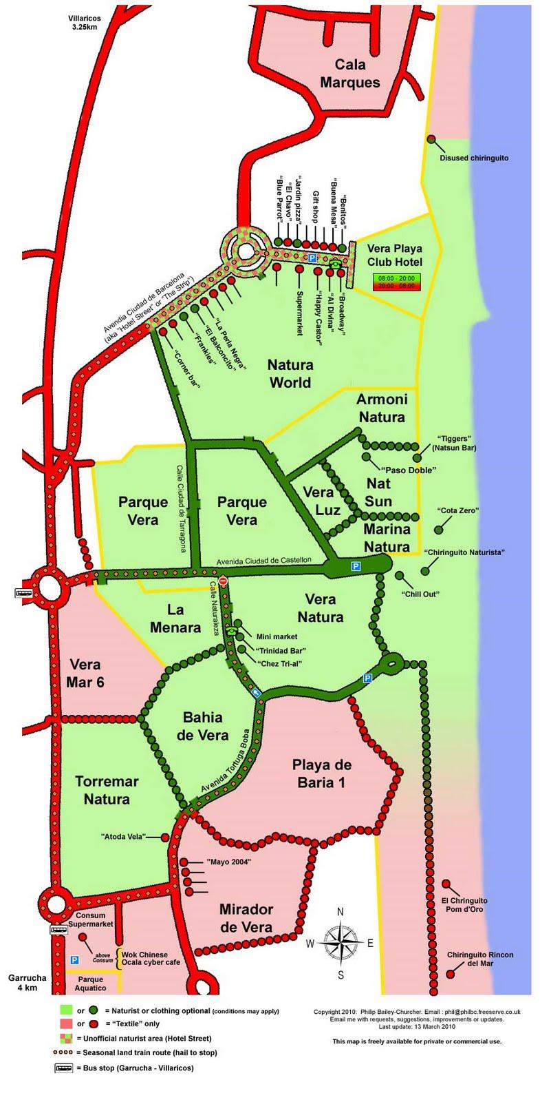 Apartamento En Parquevera Vera Almeria Distancia A La Playa Y