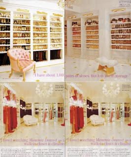 MARIAH CAREY Famous As Five Grammy Award Winning Artist Closet Size 12000 Square Foot Location Manhattan Special Collections About 1000 Pairs Of