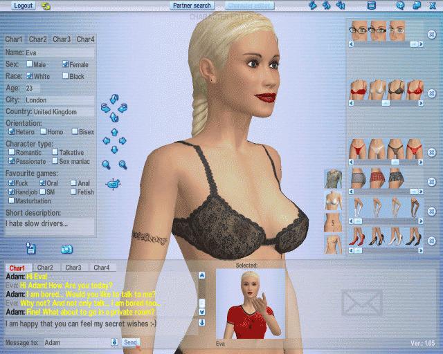 Online sex partner search