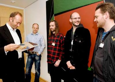 Trond som Tintin - lover norske serieskapere innkjøpsordning for tegneserier