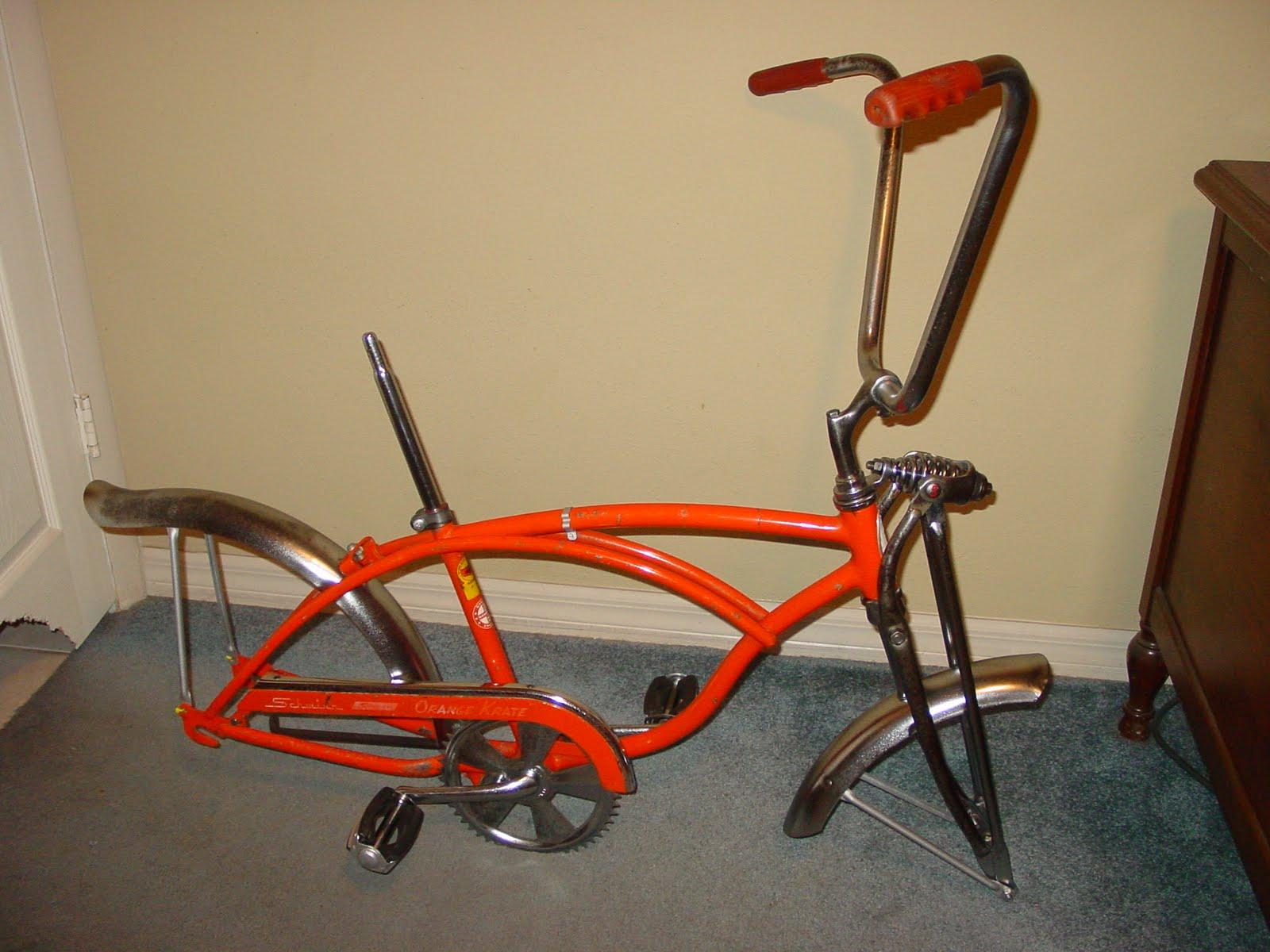 Update The Littlebig Bikes Are Coming Again: VINTAGE HIDE-OUT: December 1968 Schwinn Orange Krate