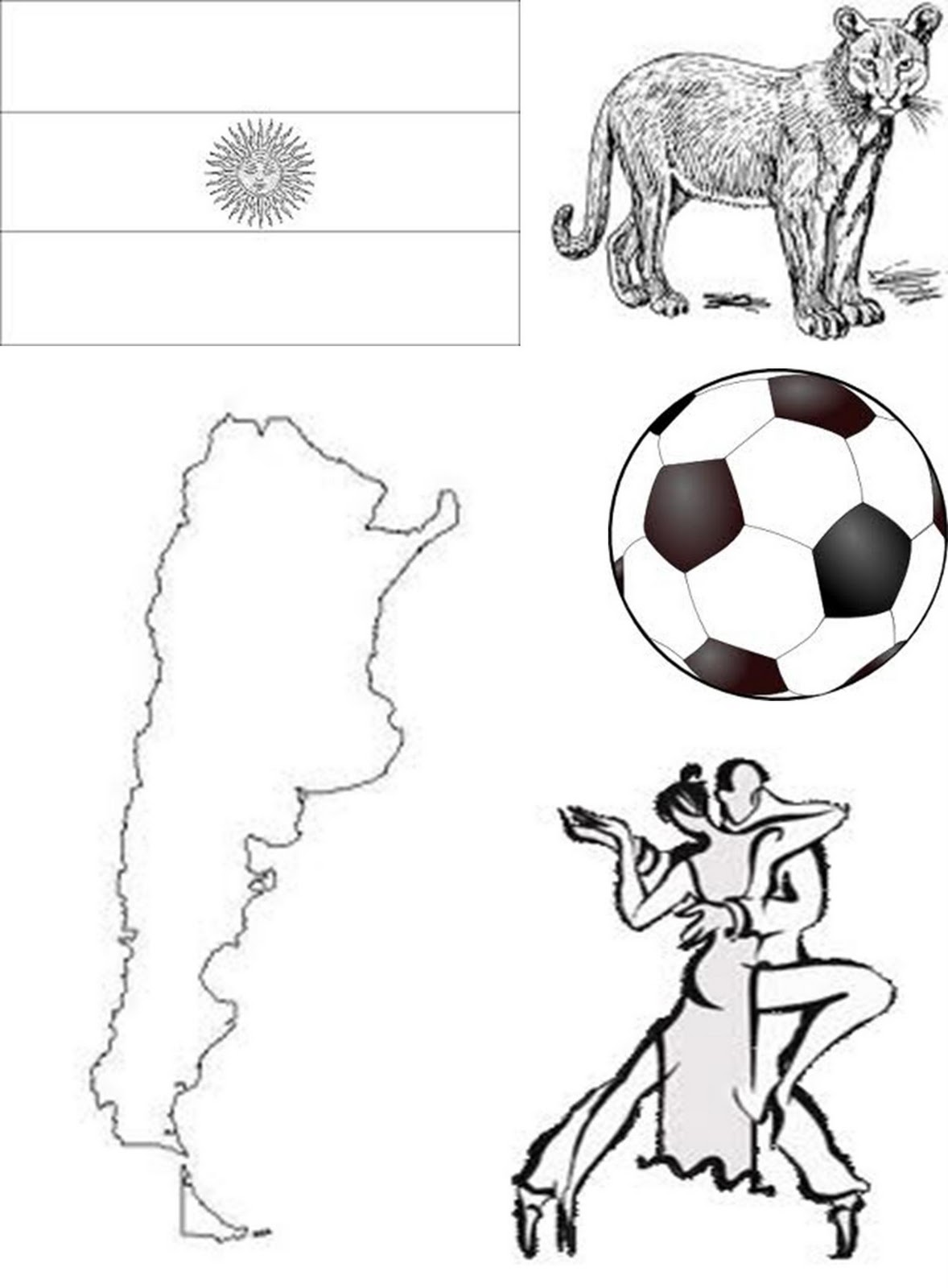 Argentina Coloring Pages - Eskayalitim