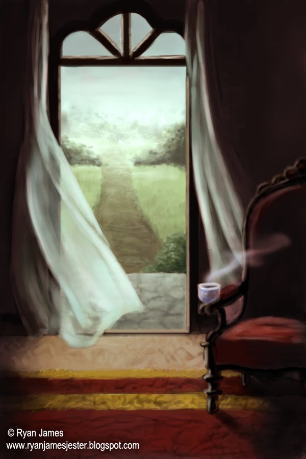 the art of ryan james the open window