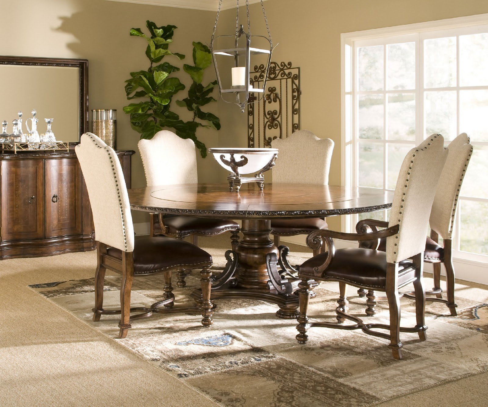 Gift home today dining room collection with a spanish for Furniture market