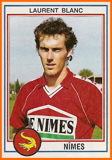 Laurent Blanc - Nimes Olympique 92/93